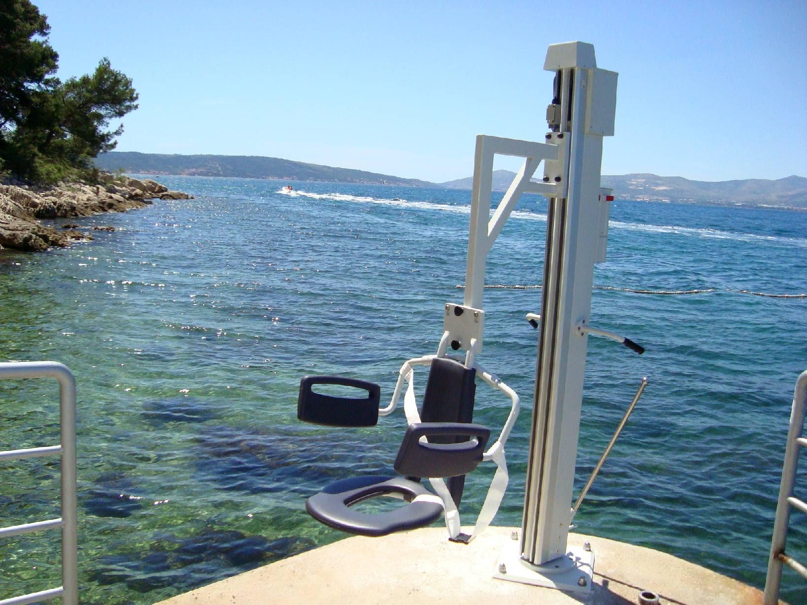 Accessible Beach Marjan park